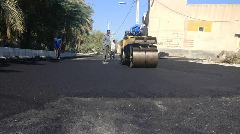 شهردار لار خبر داد؛ اجرای عملیات زیرسازی، اصلاح و آسفالت کوچه شهید یزدی