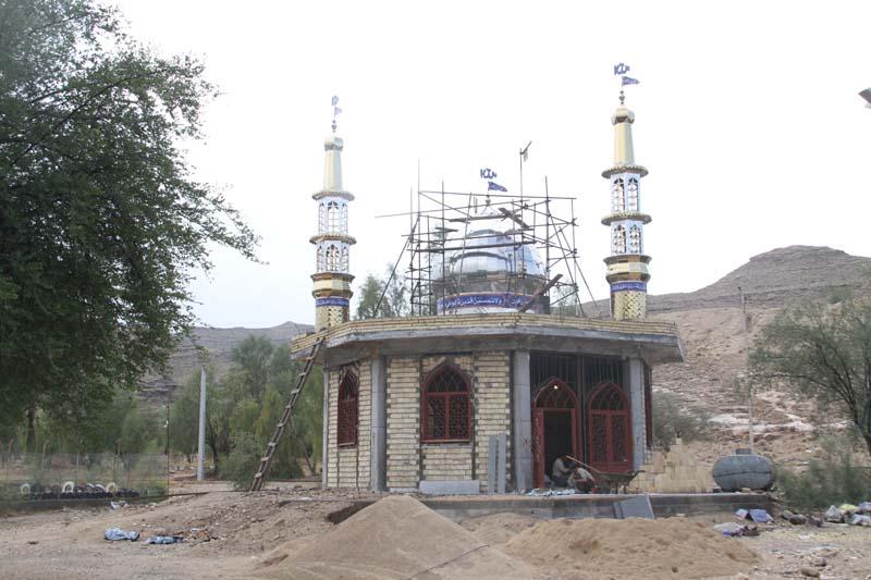احداث مسجد در پارك ملت توسط خير - 6 آذرماه 95