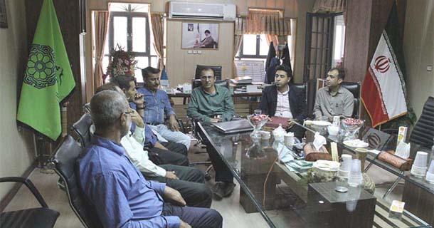 برگزاري مراسم تقدير از جانبازان كارمند در شهرداري لار