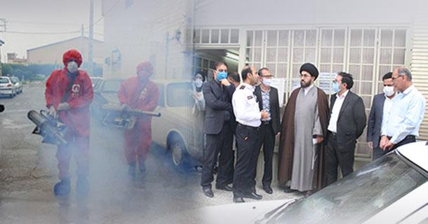 با حضور امام جمعه لارستان و شهردار لار؛ از چهار دستگاه فوگر ضدعفونی کننده سازمان آتش نشانی و خدمات ایمنی شهرداری لار رونمایی شد