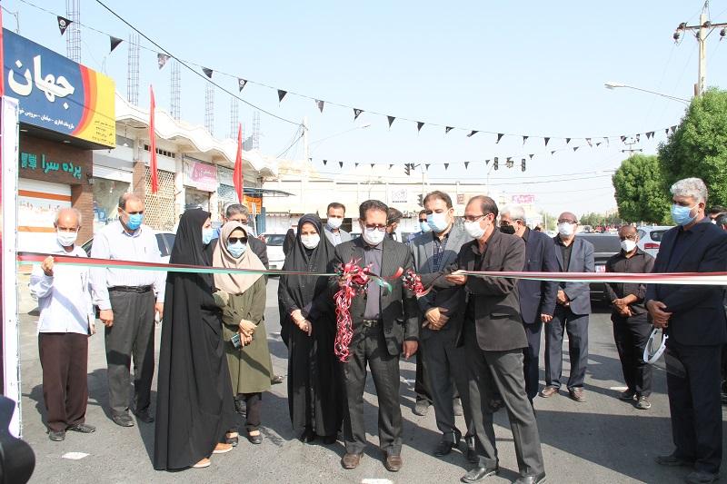 همزمان باهفته دولت 5 پروژه عمرانی و خدماتی شهرداری لار به بهره برداری رسید