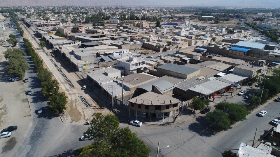 گزارش تصويري بهسازي بلوار پاسداران شهر لار