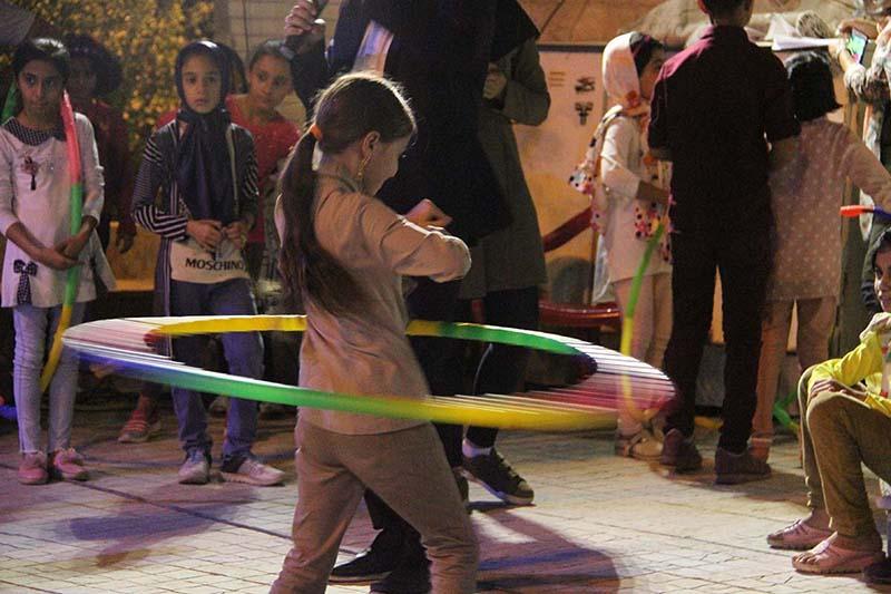 ویژه برنامه «ورزش و خانواده» در بوستان ندای بهار برگزار شد